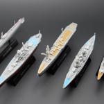 ชุดรวม 4D Model Battle Ship: โมเดลเรือรบประจัญบาน