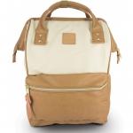 กระเป๋าเป้ Anello หนัง รุ่น AT-B1211 สี IVORY/C.BEIGE (I/C)