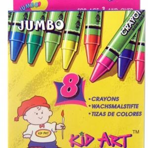 สีเทียน Kid Art ขนาดจัมโบ้ (Kid Art Jumbo Crayons)