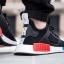 adidas Originals NMD XR1 Primeknit Black Red Blue White thumbnail 12