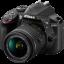 Nikon D3400 Lens AF-P 18-55 VR thumbnail 1