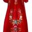 ชุดวินเทจ Vintage Mexican Embroidered Dress