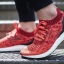 ULTRA BOOST UNCAGED SHOES Color Collegiate Burgundy/Core Pink/Glow Orange thumbnail 8