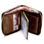 M Ven Leather Zipper Dark Brown thumbnail 3