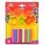 ดินน้ำมันสะท้อนแสง 100 กรัม 8สี (Clay 8 Neon Colors 100 g.)