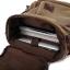 กระเป๋าเป้สะพายหลัง ผ้าแคนวาส สีกากี thumbnail 11