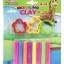 ดินน้ำมันสะท้อนแสง100g. +แม่พิมพ์ (Clay 8 Neon Colors 100 g. with mold )