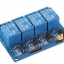4 Channel 5V relay 4 ช่อง แบบ isolation control Relay Module Shield 250V/10A แบบ Active Low thumbnail 1