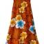 ชุดฮาวาย เดรสยาว ผ้าใยสับปะรด BRAND : ROYAL HAWAIIAN