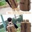 กระเป๋าเป้เดินทาง ผู้ชาย สีเทา thumbnail 4