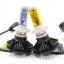 X3 หลอดไฟหน้า LED ขั้ว H4 - LED Headlight Philips chip ZES 2nd.G thumbnail 3