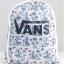 กระเป๋าเป้สะพายหลัง เชือกรูด จาก VANS ลายฮาวาย
