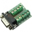 RS232 Serial to Terminal DB9 Male Adapter Connector Signals Terminal Module thumbnail 1