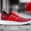 adidas Originals NMD R2 Primeknit Color Core Red/Footwear White thumbnail 9