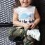 เสื้อแขนกุดเด็กสกรีน Little Fish thumbnail 3
