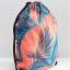 กระเป๋าเป้สะพายหลัง เชือกรูด จาก VANS สีส้ม thumbnail 2