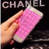 เคส iPhone 6/6s Plus เคสประดับคริสตัสสีชมพูเข้ม