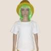 เสื้อยืดเด็กสีขาว ผ้าคอทตอน#32ไซส์M