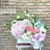 กล่องดอกไม้ ฟลอเรซอง Size M