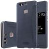 เคส Huawei P9 Plus ฝาพับ nillkin Sparkle Leather Case สีดำ
