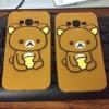 เคส Samsung A7 ฺฺซิลิโคนหมีคุมะ