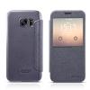 เคส Samsung S7 ฝาพับ nillkin Sparkle Leather Case สีดำ