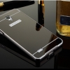 เคส OPPO Joy3 เคสBP.อลูมิเนียมหลังสไลด์ Mirror สีดำ