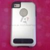 เคส iPhone 4/4s Motomo สีเงิน