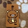 เคส OPPO R7 Plus เคสซิลิโคนหมีคุมะ