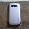 เคส Samsung E5 Caseology สีเงินดำ