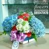 กล่องดอกไม้ แสดงความยินดี (M)