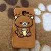 เคส Samsung A7(2016) ซิลิโคนหมีคุมะ
