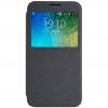 เคส Samsung E5 เคสฝาพับ รุ่น Sparkle Leather Case สีดำ