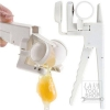 Hot EZ Egg Cracker Handheld York & White Separator