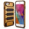 เคส iPhone 6/6s ฝาหลังสีทอง คาดดำ