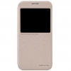 เคส Samsung S6 ฝาพับ nillkin Sparkle Leather Case สีทอง