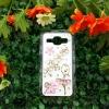 เคส Samsung J1 เคสคริสตัสฝาหลัง ลายดอกไม้