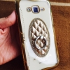 เคส Samsung J5(2016) TPU Princess(มีแหวนตั้งได้) สีทอง