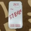 เคส Samsung S7 Edge เคสTPU ใส 0.5 (ใช้กับงานสรีนได้)