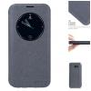 เคส Samsung S7 Edge ฝาพับ nillkin Sparkle Leather Case สีดำ
