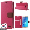 เคส Samsung S7 เคส ROAR KOREA เคสฝาพับ สีชมพู