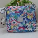 Kipling Sebastian Indigo Bloom กระเป๋าสะพายน่ารัก ขนาด 9.25 x 8.5 x 1.75 นิ้ว
