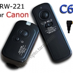 RW-221 2.4GHz Wire/Wireless Remote set C6 For Canon 60D/650D/550D/450D
