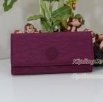 Kipling Brownie Berry กระเป๋าสตางค์ใบยาว ขนาด 19 L x 10 H x 3 W cm