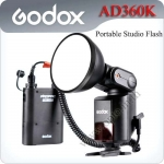 Godox WITSTRO AD360kit (360W/S, GN80 barebulb flash + PB960 lithium battery pack)