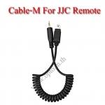 Cable-M Shutter Release Cable for NIKON MC-DC2 compatible cameras D750 D5500 D5300 D7200 สายต่อรีโมท