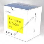 Len Hood ET-74 ET74 (ฺBlack) For Canon 70-200mm f/4L IS USM เลนส์ฮูดแคนนอน