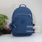 Kipling Clas Challenger Jazzy Blue กระเป๋าสะพายหลังขนาดกลาง ขนาด (W x H x D) 26 x 36 x 21 ซม.