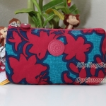 Kipling Creativity L Funky Flower C กระเป๋าอนกประสงค์ 3 ช่อง + 2 ช่องเล็ก ขนาด 18.5 x 11 x 5 cm