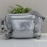 Kipling Gracy Platimum Meallic กระเป๋าสะพายข้าง ทรงเก๋ เหมาะกับสาวสมัยใหม่ ขนาด L11.75 x H 8.25 x D 4.75 นิ้ว